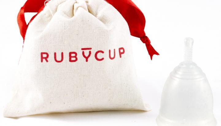 Дарим менструальную чашу Ruby Cup!!!