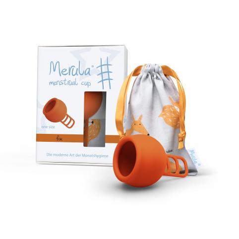 """Менструальная чаша """"Merula"""" оранжевая (One Size - универсальная)"""