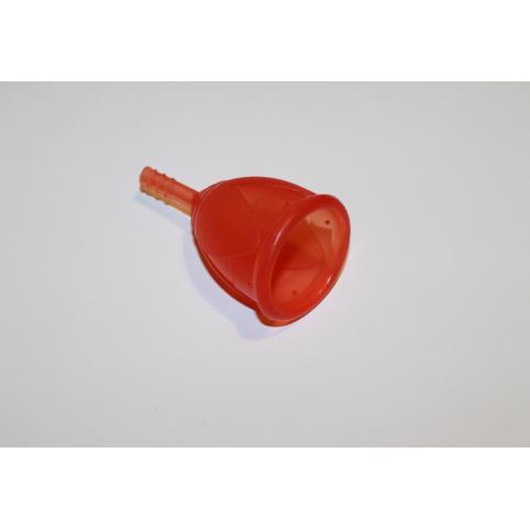 """Менструальная чаша """"Тюльпан"""" красная"""