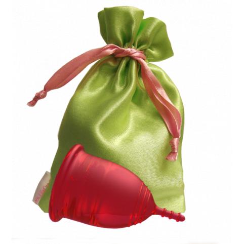 """Менструальная чаша """"LilaCup"""" красная"""