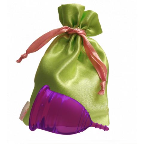 """Менструальная чаша """"LilaCup"""" фиолетовая"""