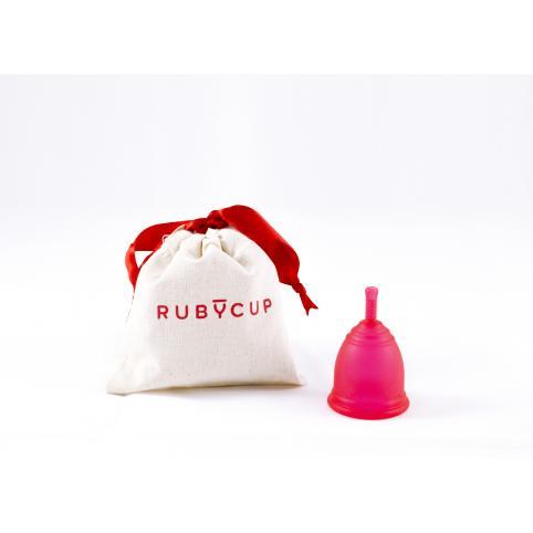 """Менструальная чаша """"RubyCup"""" красная"""
