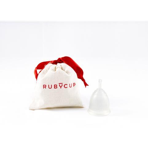 """Менструальная чаша """"RubyCup"""" прозрачная"""