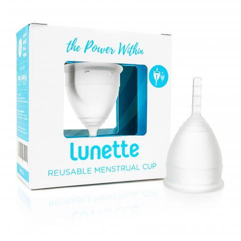 """Менструальная чаша """"Lunette"""" (S - до 30 лет или не рожавшим) Model 1"""