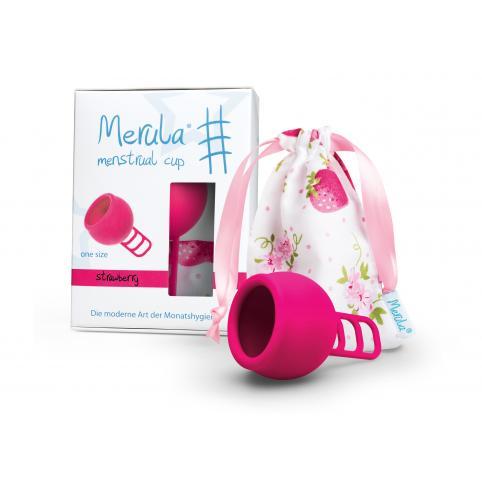 """Менструальная чаша """"Merula"""" розовая (One Size - универсальная)"""