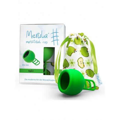 "Менструальная чаша ""Merula"" зеленая apple (One Size - универсальная)"