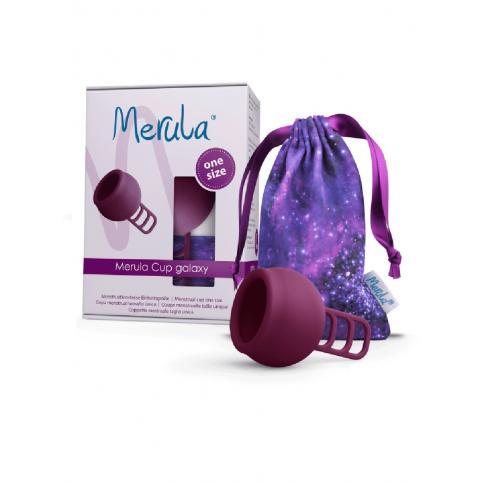 """Менструальная чаша """"Merula"""" галактика (One Size - универсальная)"""