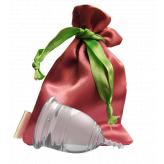 "Менструальная чаша ""LilaCup"" прозрачная"